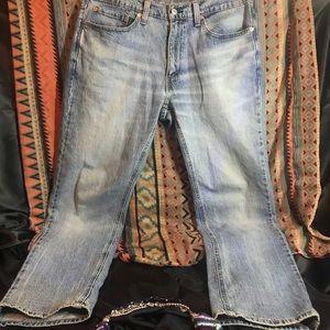 Men's Levi's light wash Jeans. Size w34 L34.